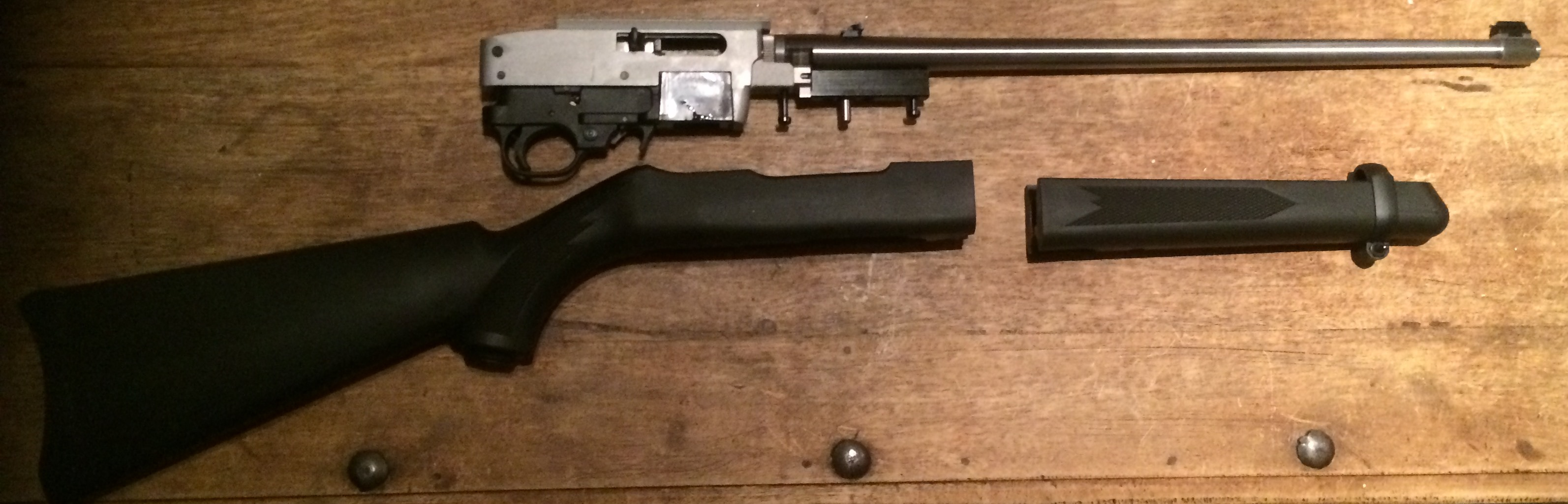 Ruger 10/22 takedown wooden stock conversion (picture heavy)