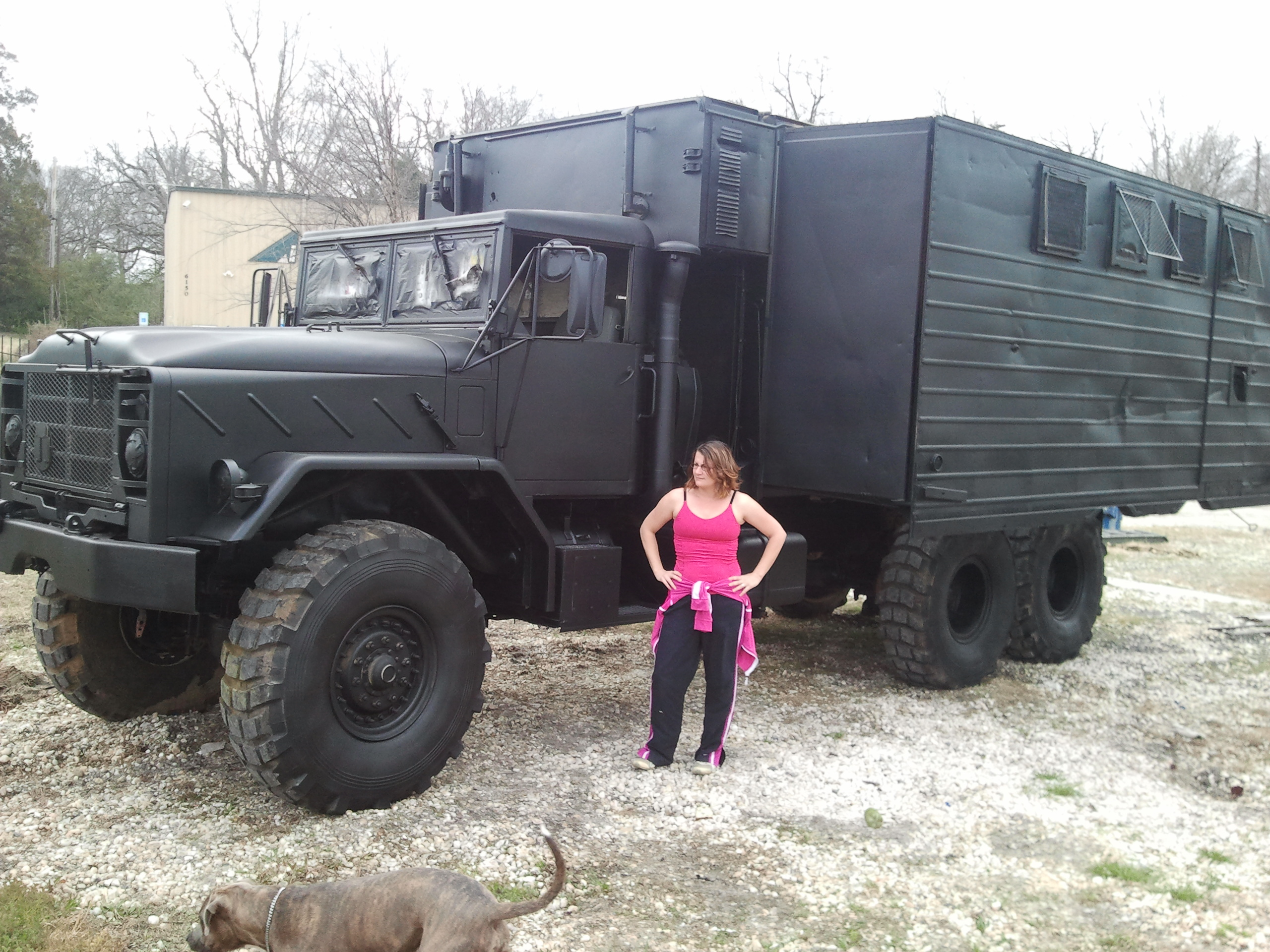 Deuce And A Half Camper >> HANDS DOWN THE LARGEST BUG OUT TRUCK I HAVE BUILT! ITS HUGE!!!! 6x6, 36,000 lb,