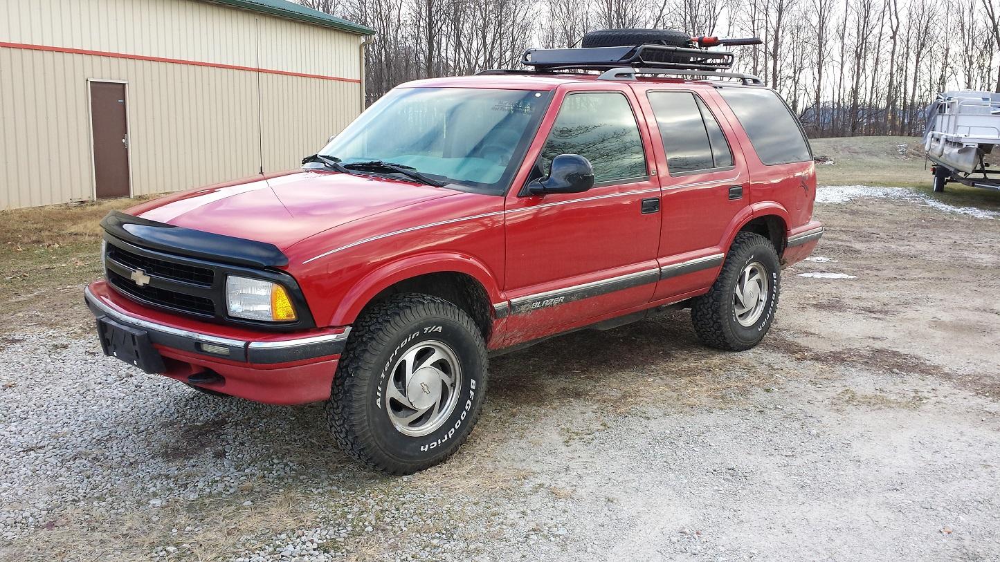 All Chevy 95 chevy s10 : Survival BOV Build.. 95 S10 Blazer
