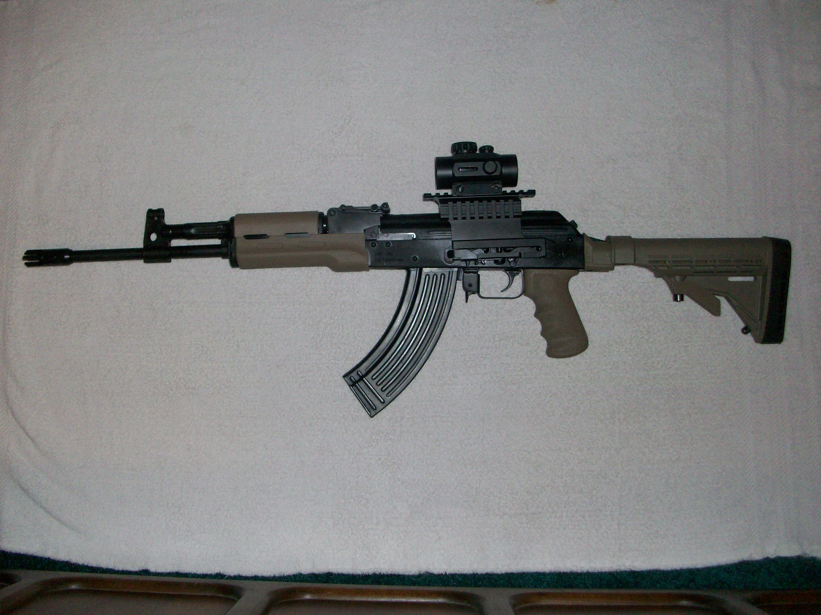 What zero range to you use for your AK