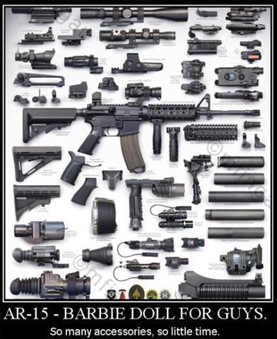 AR 15 Replacement Parts and LPK's