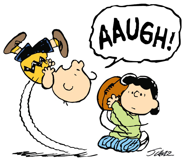 CA Gas Tax Redirected ... unfortunately ... no one is shocked into voting differently-charlie-brown-lucy-moves-football-again.png
