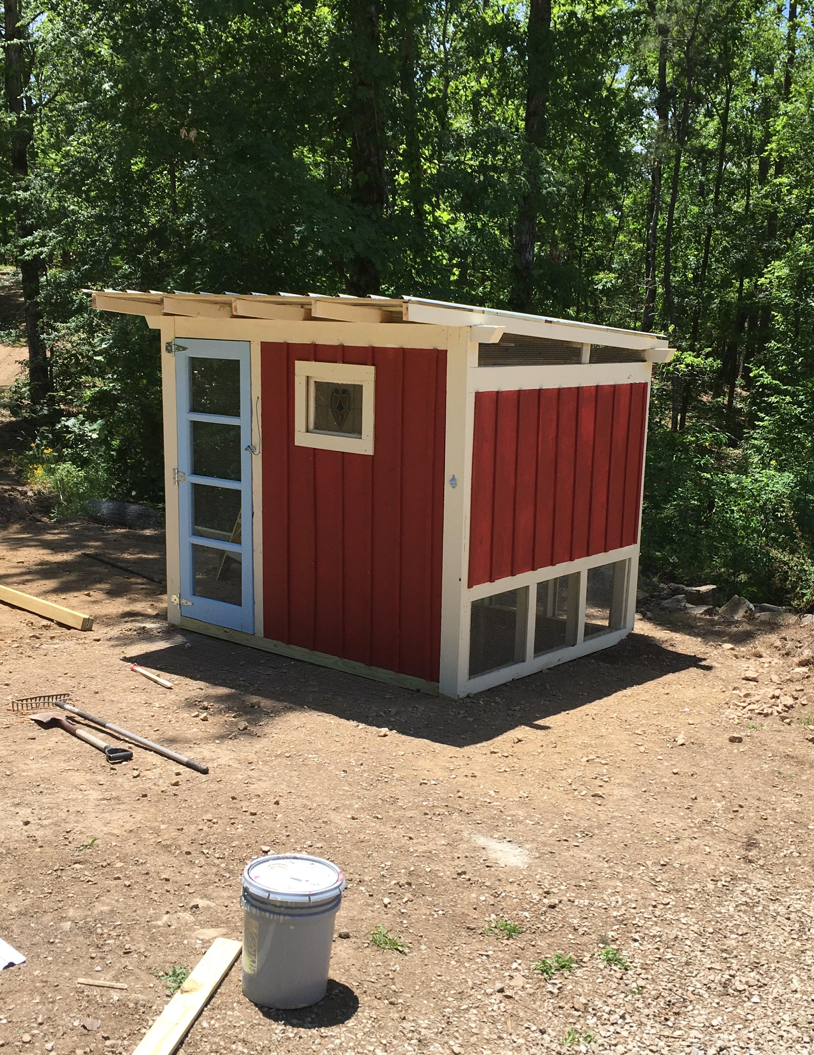 Slippy's Chicken Coop & Chicken Run Build!-coop-11.jpg