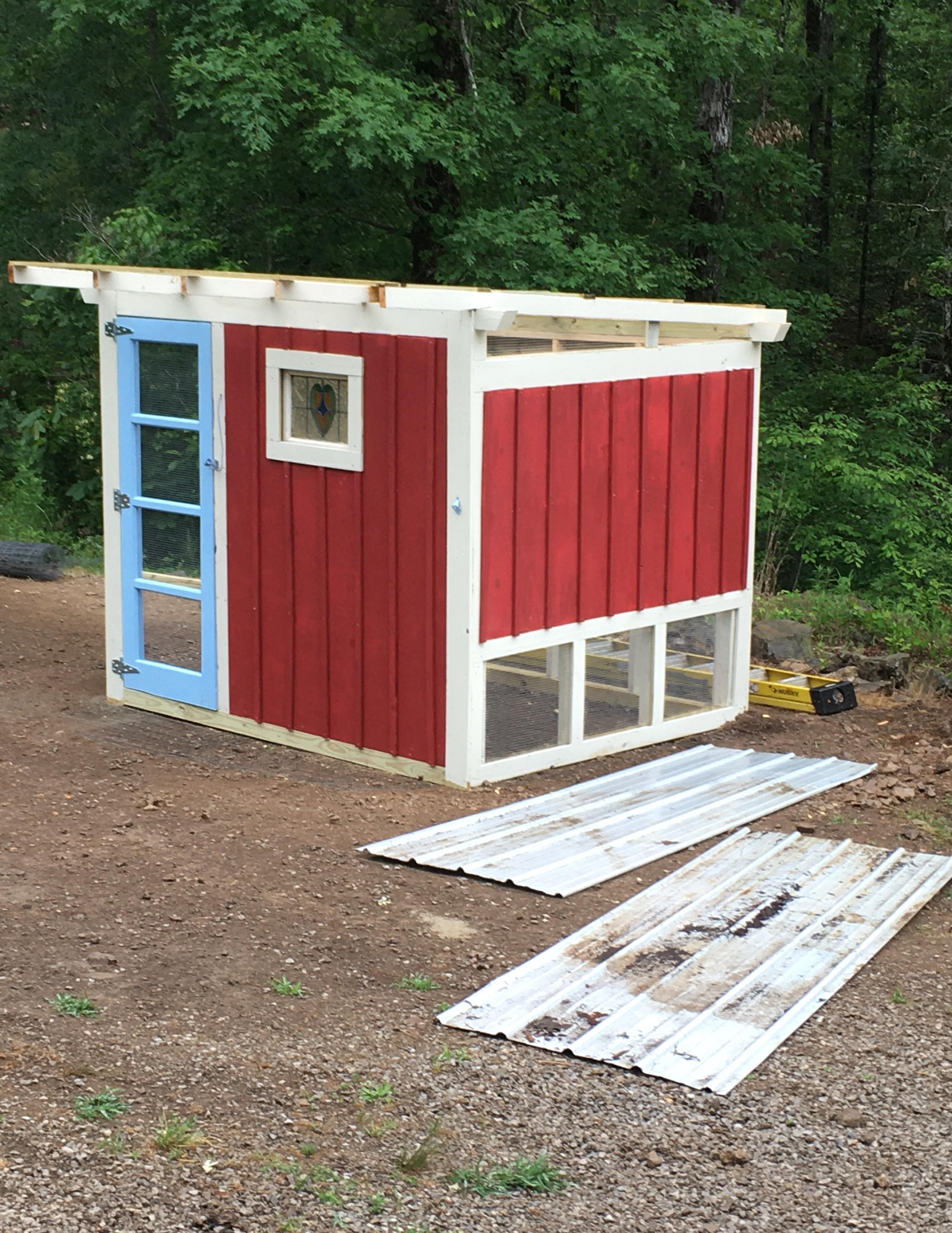 Slippy's Chicken Coop & Chicken Run Build!-coop-8.jpg