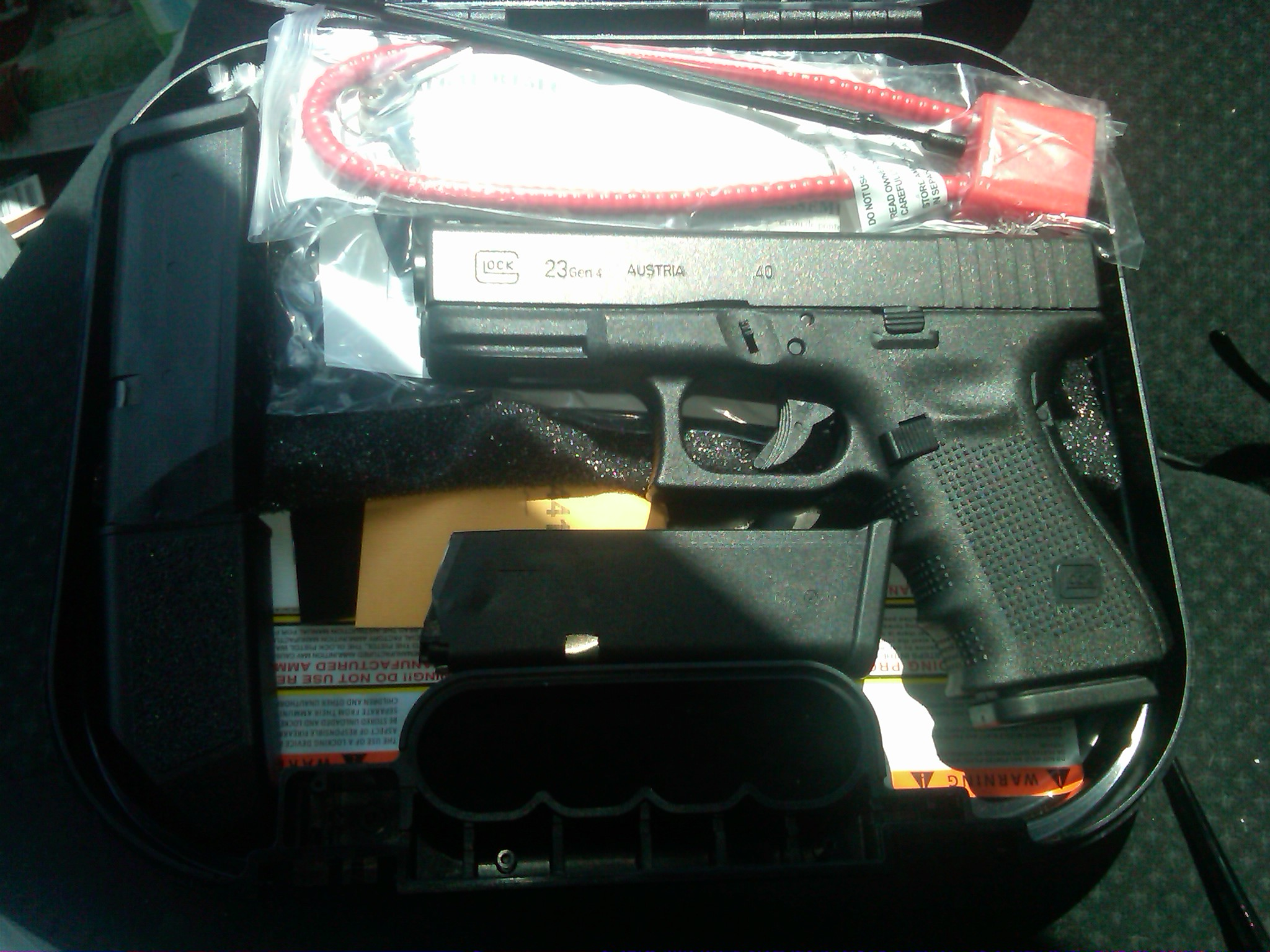 New Addition Glock 23 Gen 4 40 Cal