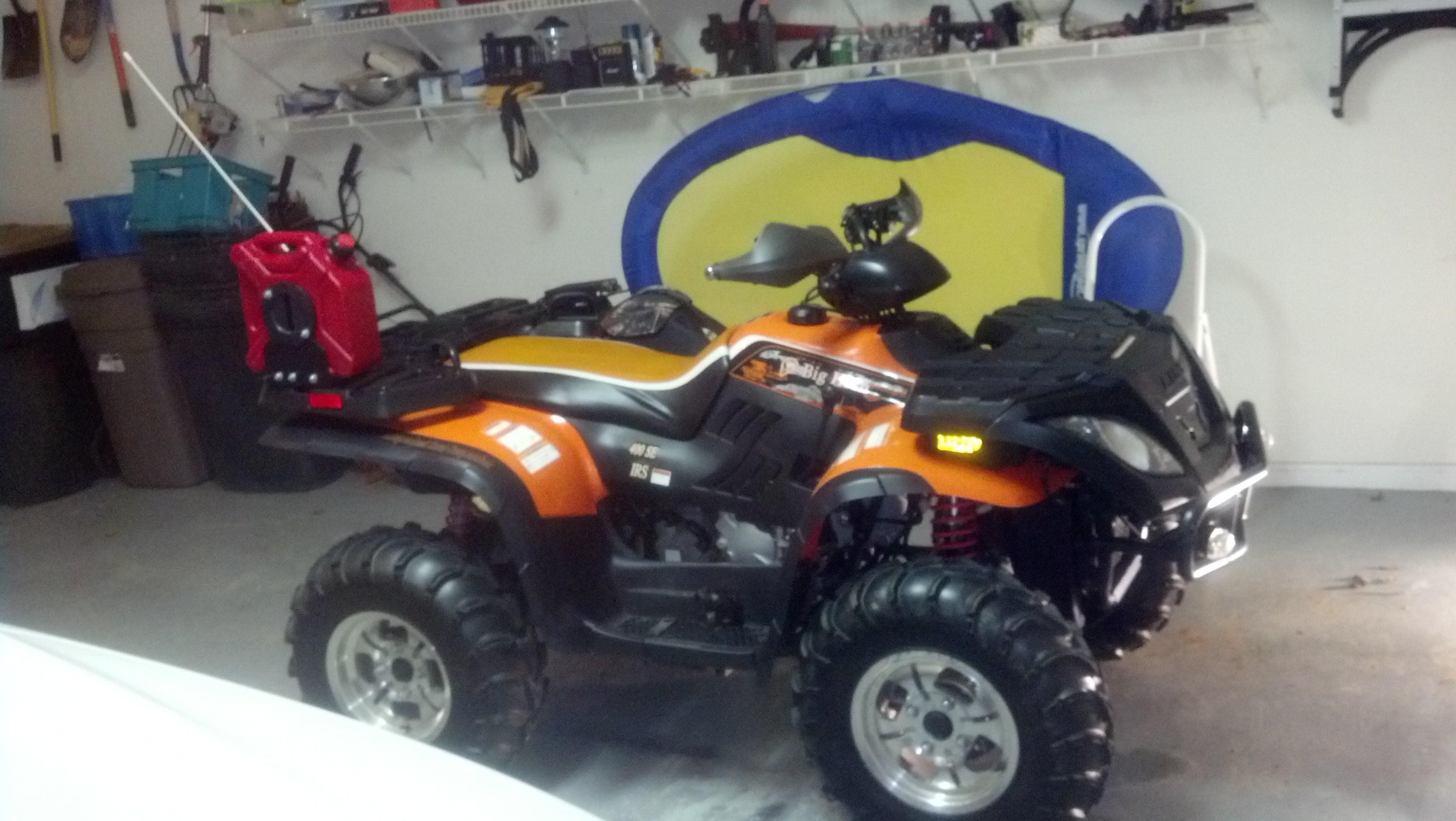 Linhai motors- prepper's pal for ATV's