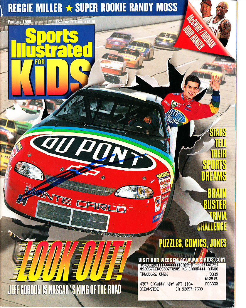 Sports Illustrated: Rapinhoe Sprortsperson of the year-jeff-gordon-autographed-1999-sports-illustrated-kids-magazine-25.jpg