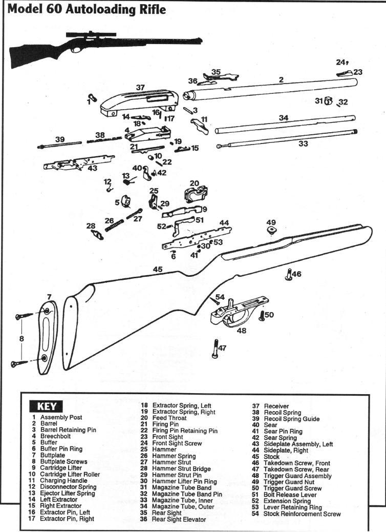 Marlin model 60 schematic marlin model parts diagram wonderful