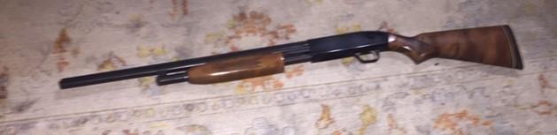 Bedside Mossberg 500 20 gauge persuader-shot1.jpg
