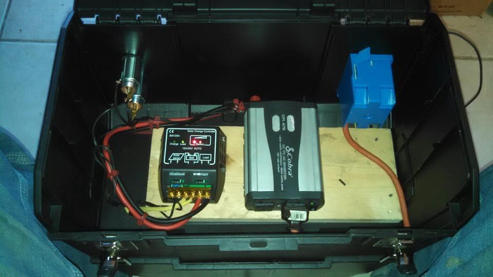 My Homemade Portable Solar Power Station
