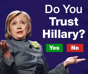 If Hillary Wasn't Running For President Would She Be Facing Crimminal Charges?-trust-hillary.jpg