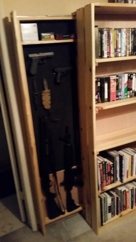 Hidden Gun Storage Bookcase (pics) Unnamed 1