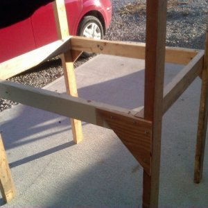 frame rabbit hutch