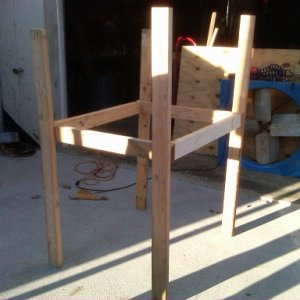 rabbit cage finish of bottom frame