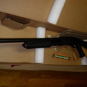 Remington 870 Tactical with Breech Barrel