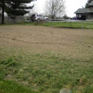 Garden 2012 - Tilled with rototiller 2012 Kentucky