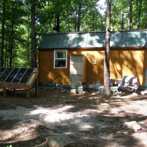 Summer 2012 - Back of the cabin