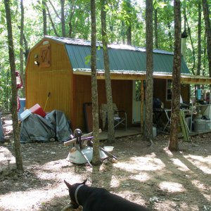 Summer 2012 - Front of the cabin