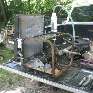 24v gasifier generator runs on charcoal gas