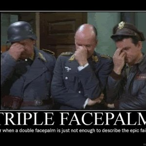 triple facepalm super