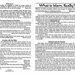 Islam Koran side 1